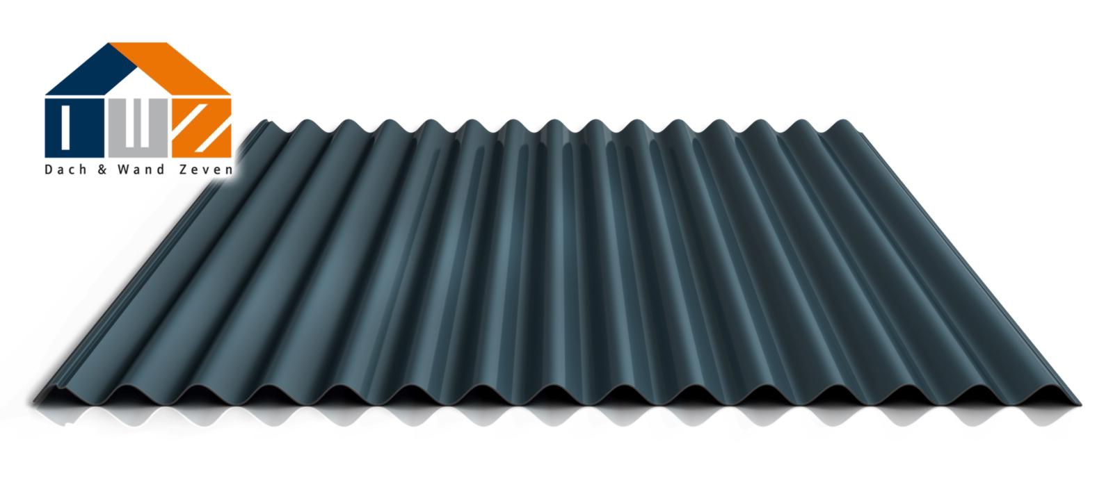 dach und wand zeven wellblech ps18 1064cr dach. Black Bedroom Furniture Sets. Home Design Ideas